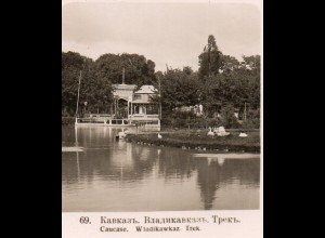 AK-1154/ Kaukasus Wladikawkaz, Trek. Rußland NPG Stereofoto ca.1910