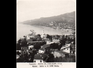 AK-1152/ Krim Jalta Rußland NPG Stereofoto ca.1910