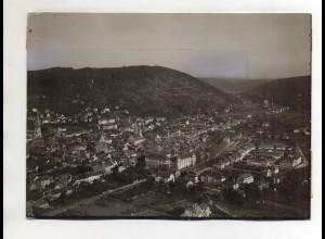 ZZ-0063/ Ettlingen Foto seltenes Luftbild ca.1935 18 x 13 cm