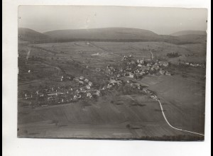 ZZ-0060/ Schöllbronn Ettlingen Foto seltenes Luftbild ca.1935 18 x 13 cm