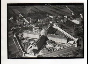 ZZ-0711/ Bruchsal Gefängnis Foto seltenes Luftbild ca.1935 18 x 13 cm