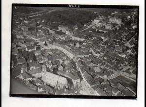 ZZ-0712/ Bruchsal Foto seltenes Luftbild ca.1935 18 x 13 cm