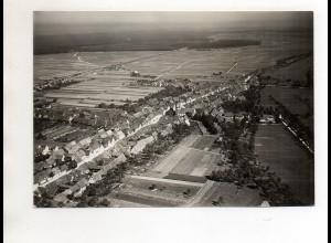 ZZ-0713/ Blankenloch b. Karlsruhe Foto seltenes Luftbild 1934 18 x 13 cm