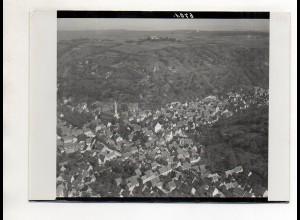 ZZ-0714/ Untergrombach b. Bruchsal Foto seltenes Luftbild ca.1935 18 x 13 cm