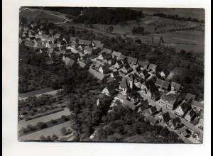 ZZ-0057/ Oelbronn-Dürn bei Pforzheim Foto seltenes Luftbild 1937 18 x 13 cm