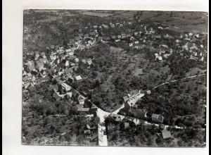 ZZ-0056/ Kieselbronn bei Pforzheim Foto seltenes Luftbild 1937 18 x 13 cm