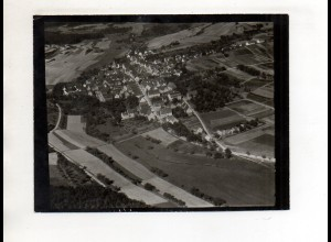 ZZ-0055/ Gechingen bei Calw Foto seltenes Luftbild ca.1938 18 x 13 cm