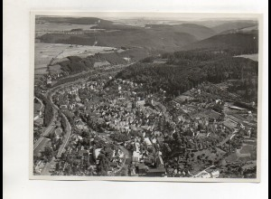 ZZ-0054/ Calw Foto seltenes Luftbild ca.1938 18 x 13 cm