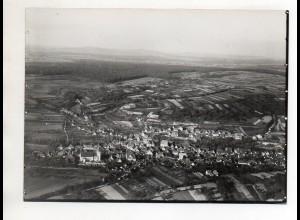 ZZ-4080/ Zeutern bei Umstadt Foto seltenes Luftbild ca. 1938 18 x 13 cm