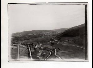 ZZ-5261/ Schömberg Foto seltenes Luftbild 18 x 13 cm ca.1936