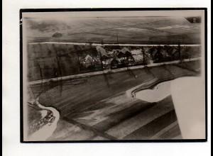 ZZ-5506/ Schorndorf Sägewerk J. Abele seltenes Foto Luftbild 18 x 13 cm