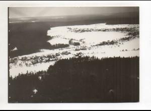 ZZ-0707/ Oberlengenhardt b. Schömberg Foto seltenes Luftbild 1934 18x13 cm