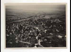 ZZ-1665/ Eppingen Foto seltenes Luftbild ca.1938 18 x 13 cm