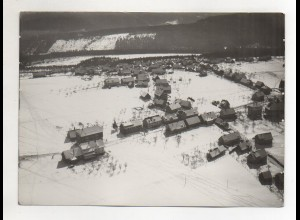 ZZ-1668/ Dobel b. Pforzheim Foto seltenes Luftbild ca.1938 18 x 13 cm