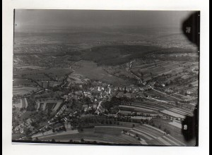 RW-0055/ Birkenfeld Gräfenhausen seltenes Foto Luftbild ca. 1935 18 x 13 cm