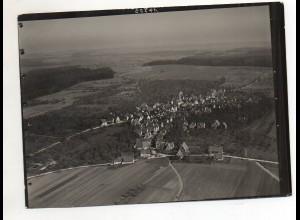 ZZ-1667/ Deckenpfronn Foto seltenes Luftbild ca.1938 18 x 13 cm