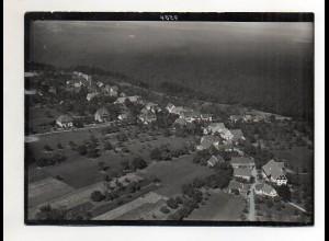 ZZ-1670/ Monakam b. Bad Liebenzell Foto seltenes Luftbild ca.1938 18 x 13 cm