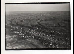 RW-0060/ Zaisenhausen Baden seltenes Foto Luftbild ca. 1935 18 x 13 cm