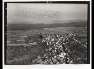 ZZ-4563/ Wurmberg bei Pforzheim Foto seltenes Luftbild ca. 1938 18 x 13 cm