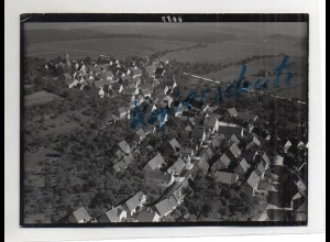 ZZ-4561/ Wurmberg b. Pforzheim Foto seltenes Luftbild ca. 1938 18 x 13 cm