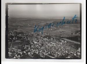 ZZ-4564/ Bretten Foto seltenes Luftbild ca. 1938 18 x 13 cm