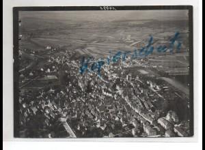 ZZ-1677/ Bretten Foto seltenes Luftbild ca.1935 18 x 13 cm