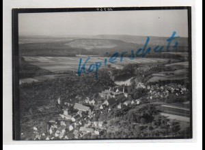 ZZ-1676/ Maulbronn Foto seltenes Luftbild ca.1935 18 x 13 cm