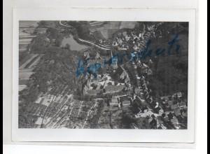 ZZ-1675/ Maulbronn Foto seltenes Luftbild 1934 18 x 13 cm