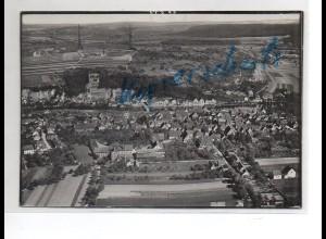 ZZ-1672/ Mühlacker Foto seltenes Luftbild ca.1938 18 x 13 cm