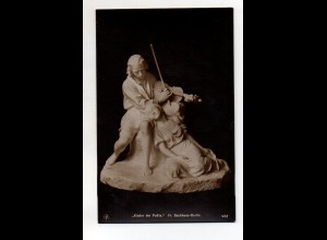 Y12008/ Skulptur erster Meister FR. Backhaus NPG Foto AK ca.1912
