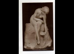Y12018/ Skulptur Cav. Valentino Casal Foto Ak ca.1912