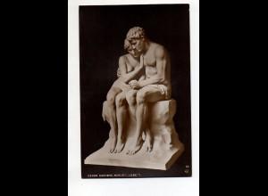 Y12013/ Skulptur Oscar Garvens NPG Foto AK ca.1912