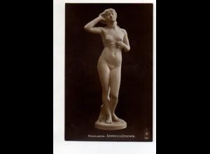 Y12021/ Skulptur Hasselberg: Schnellglöckchen Foto AK ca.1912