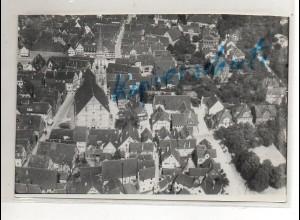 ZZ-0718/ Schorndorf Foto seltenes Luftbild ca.1935 18 x 13 cm
