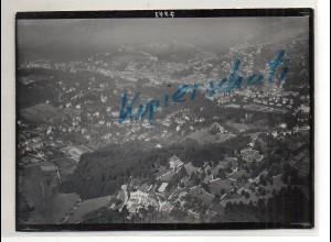 ZZ-0715/ Baden-Baden Foto seltenes Luftbild ca.1935 18 x 13 cm