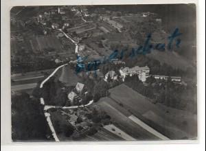 ZZ-5263/ Ebersteinburg bei Baden-Baden Foto seltenes Luftbild 18 x 13 cm 1937