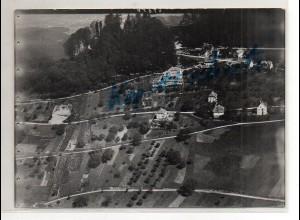 ZZ-4569/ Obersteinburg b. Baden-Baden Foto seltenes Luftbild 1937 18 x 13 cm