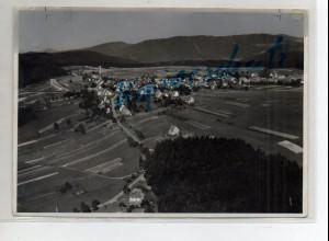 ZZ-1661/ Dobel bei Pfotzheim Foto seltenes Luftbild ca.1938 17,5 x 12,5 cm