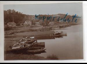 C3050/ Lauenburg Elbe altes Foto 17 x 12 cm ca.1905 -AK-