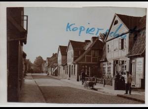 C3049/ Lauenburg Elbe Grünstraße altes Foto 17 x 12 cm ca.1905 -AK-