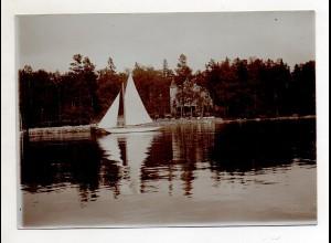C3058/ Wasa Vaasa Foto ca. 17 x 12 cm 1907 Finnland