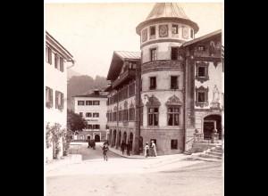 AK-1873/ Berchtesgaden Stereofoto v Alois Beer ~ 1900