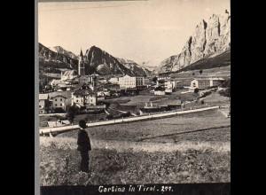 AK-2031/ Cortina de Ampezzo Südtirol Italien Stereofoto ca.1905