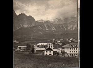 AK-2039/ Cortina de Ampezzo Südtirol Italien Stereofoto ca.1905