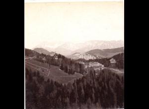 AK-2129/ Südbahn-Hotels Semmering Stereofoto v Alois Beer ~ 1900