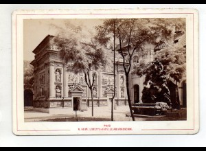 AK-2079/ Prag Loretto-Kapelle Tschechien Kabinettfoto Alois Beer ~ 1900