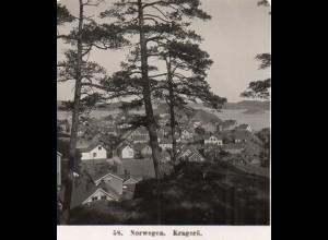 AK-2221/ Kragerö Norwegen NPG Stereofoto ca.1910