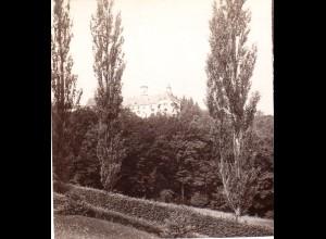 AK-2193/ Schloß Pertelstein b.Feldbach Steiermark Stereofoto v Alois Beer ~ 1900