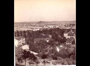 AK-2191/ Graz vom Eggenberg Steiermark Stereofoto v Alois Beer ~ 1900