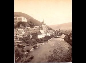 AK-2189/ Murau Ostseite Steiermark Stereofoto v Alois Beer ~ 1900